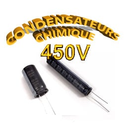 Condensateur Chimique / Condensateur Électrolytique 450V