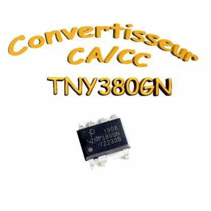 TNY380GN - Convertisseur CA / CC 20 Watt - Smd-8