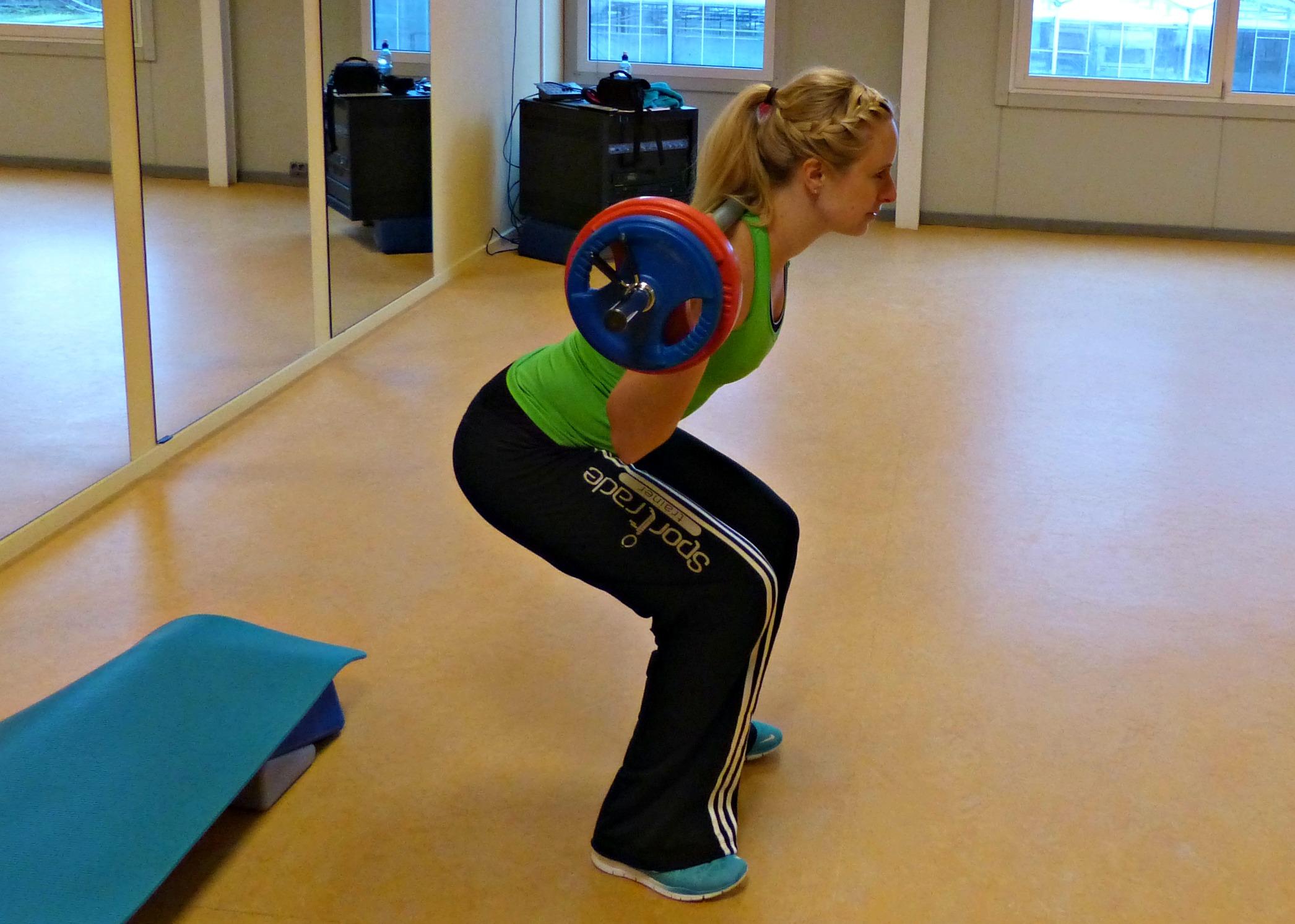 arm training vrouwen