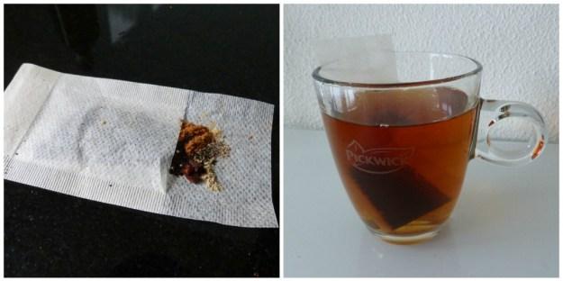 Collage chai tea