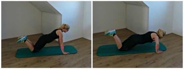 Collage pushup