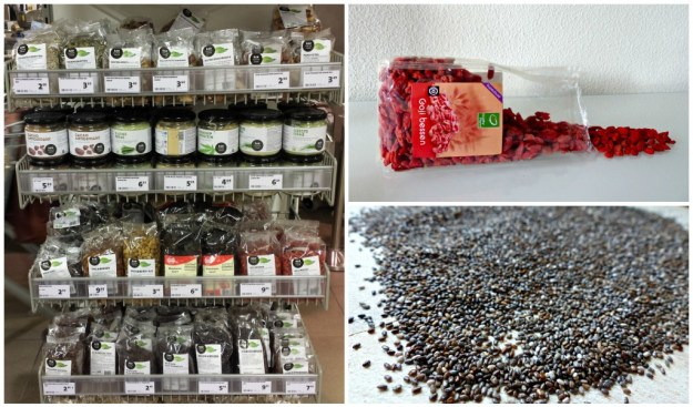 Collage superfoods