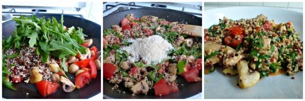 Quinoa rucola