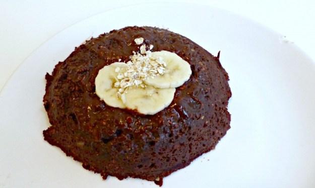 Chocolade mugcake
