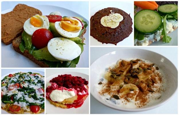 Ontbijt collage