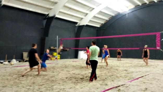 Volleyballen