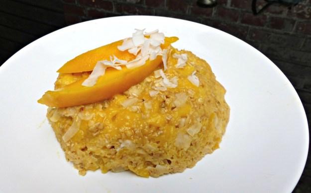 Mugcake mango kokos