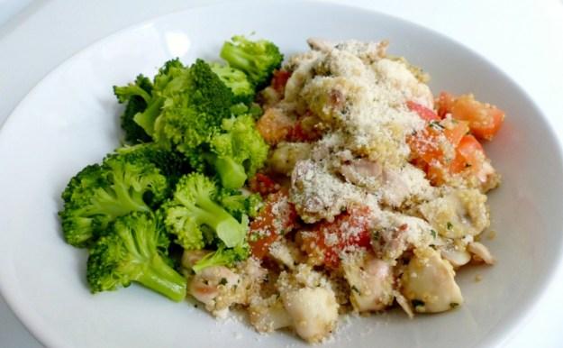 Quinoa kip broccoli