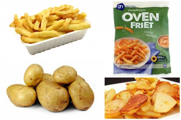 Aardappel, friet, ovenfriet