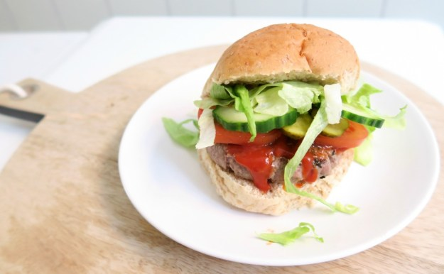 Gezonde hamburger1