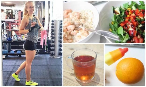 Wat ik eet gezond afvallen