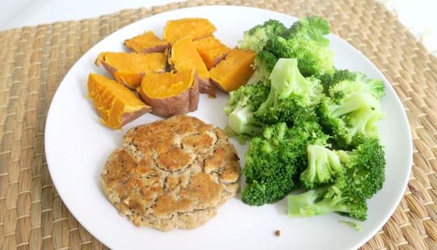 Recept gezonde zalmburger