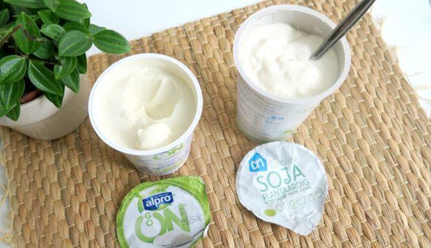 Yoghurt veganisten