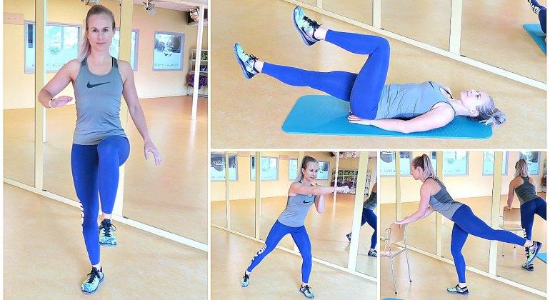 beginner workout afvallen