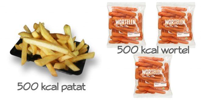 Is elke calorie hetzelfde