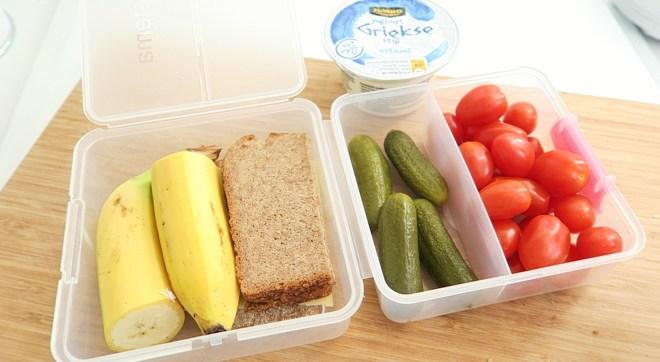 Gezonde lunchbox