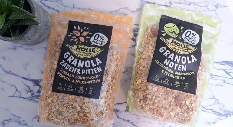 granola zonder suiker