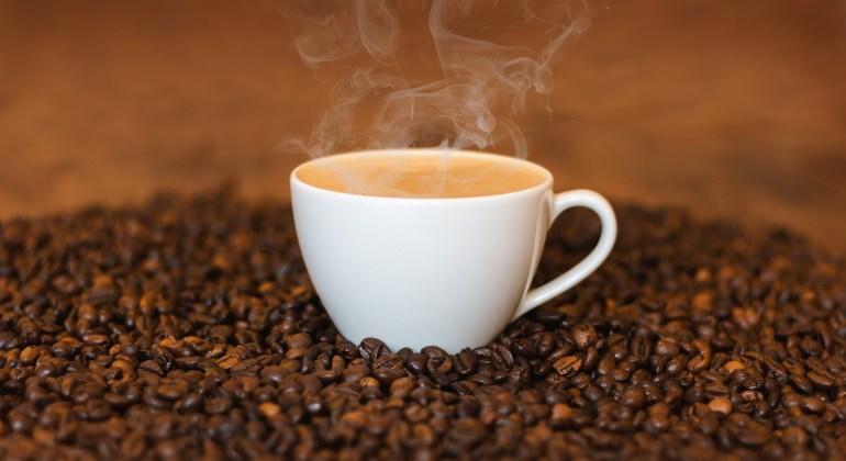 Koffie droogt uit