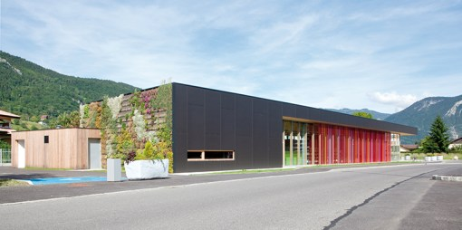 MEDIATHEQUE DE THYEZ | Construction de Dalle Pleine | Ouvrage publics