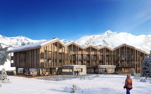ALP HOTEL | SAINT MARTIN DE BELLEVILLE | Construction Prédalle & Coffrage Plancher | Hôtel