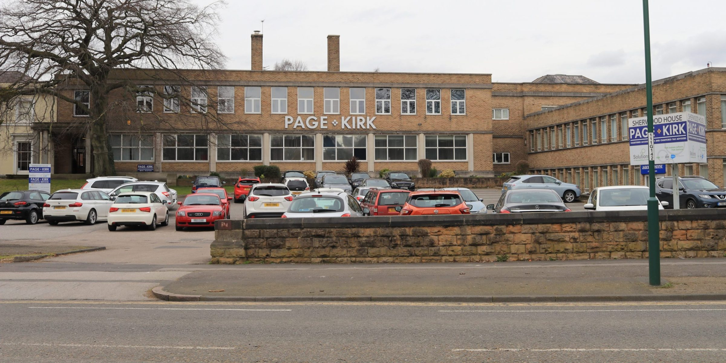 Optimise Systems at Sherwood House Page Kirk