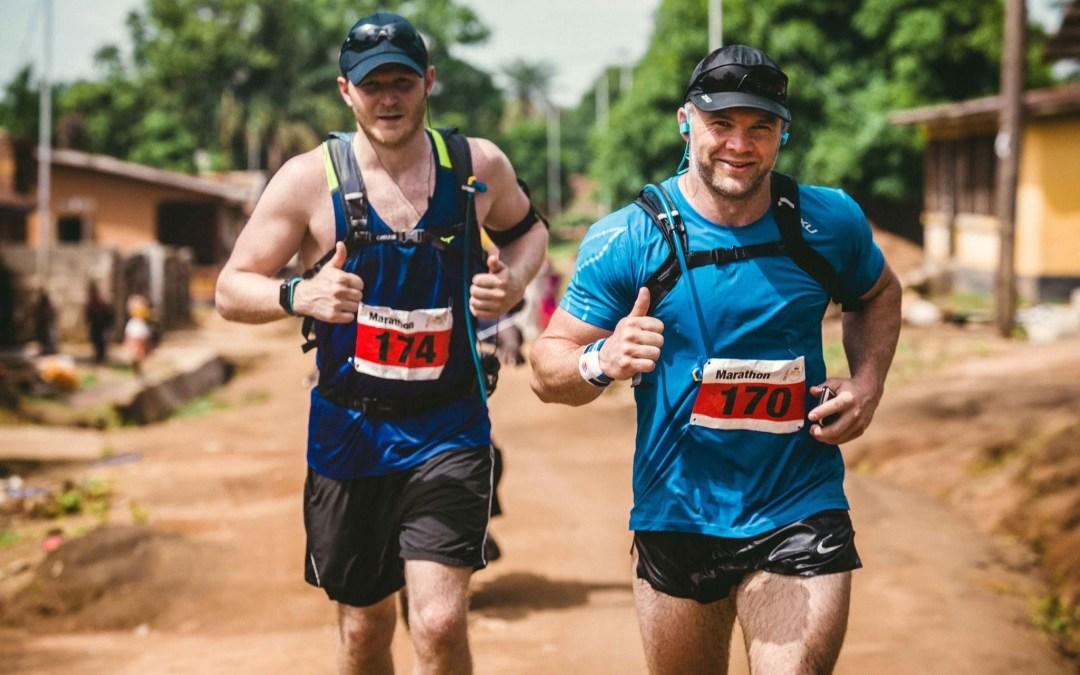 Sierra Leone Marathon Man