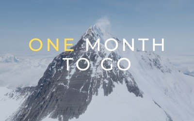Everest: One month to go