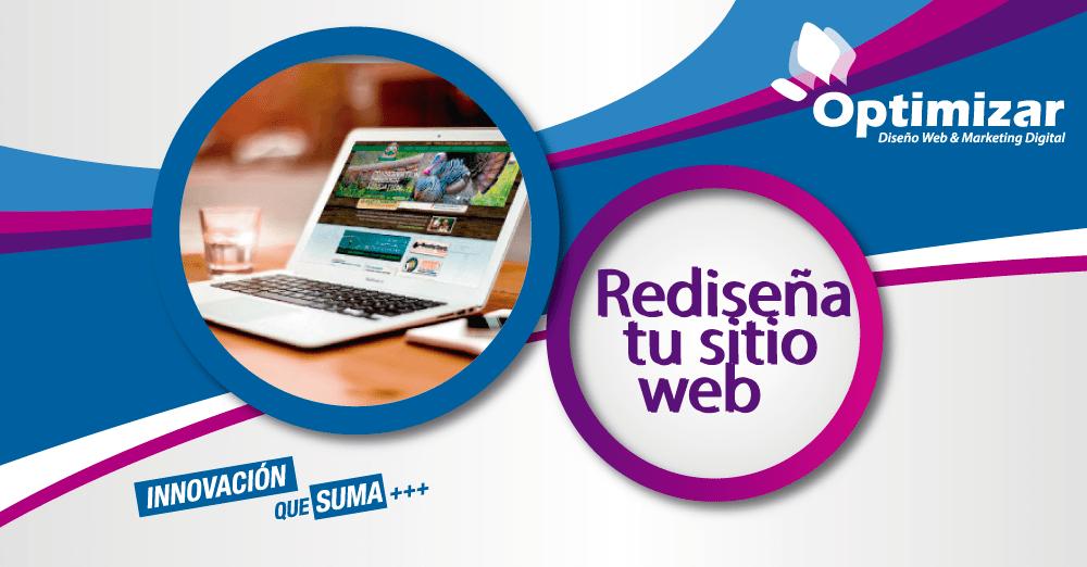 Rediseñar Sitio Web