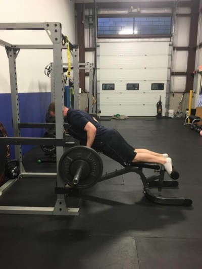 Exercise of the Week: Barbell Chest Supported Row