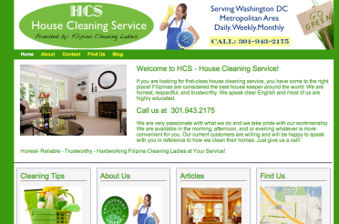 housecleaning web image