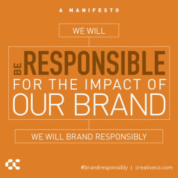 Branding is a continuous effort. Not a one and done deal.