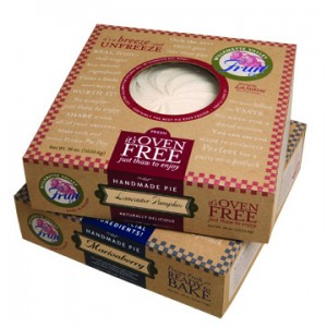 packaging for frozen pies