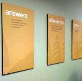 A brand restage on Messaging posters for Cascade Employers Association
