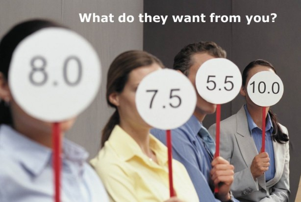 audience perceptions, what do they want from you?