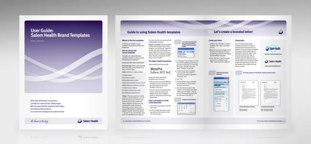 Letterhead templates how to instructions for users