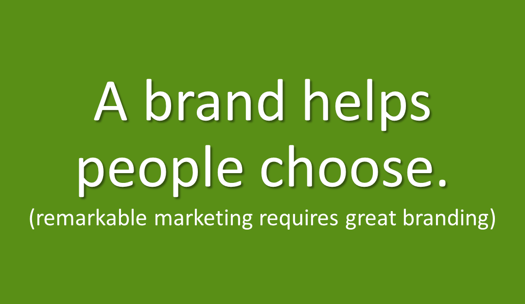 Create a brand to build your marketing results