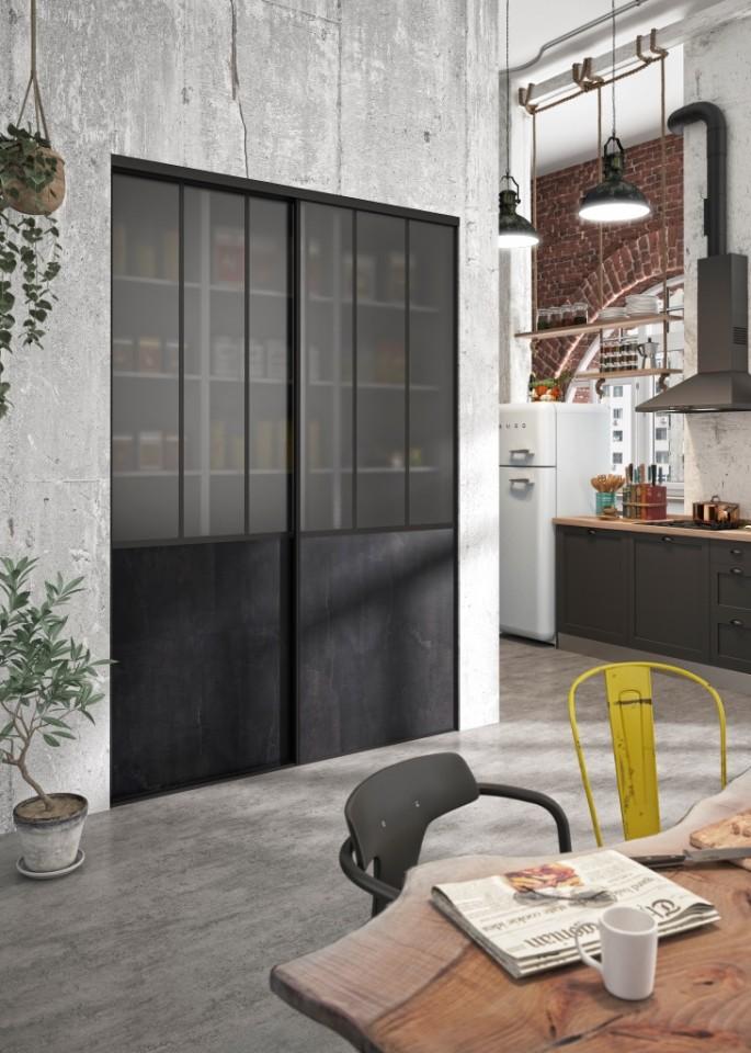 portes de placard industriel atelier