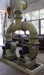 KPONE_Blower skid (before FRP pipe painted)