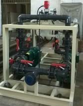 KPONE_Shock Dosing pump skid