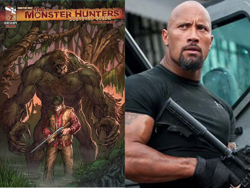 Dwayne Johnson, The Monster Hunter's Survival Guide
