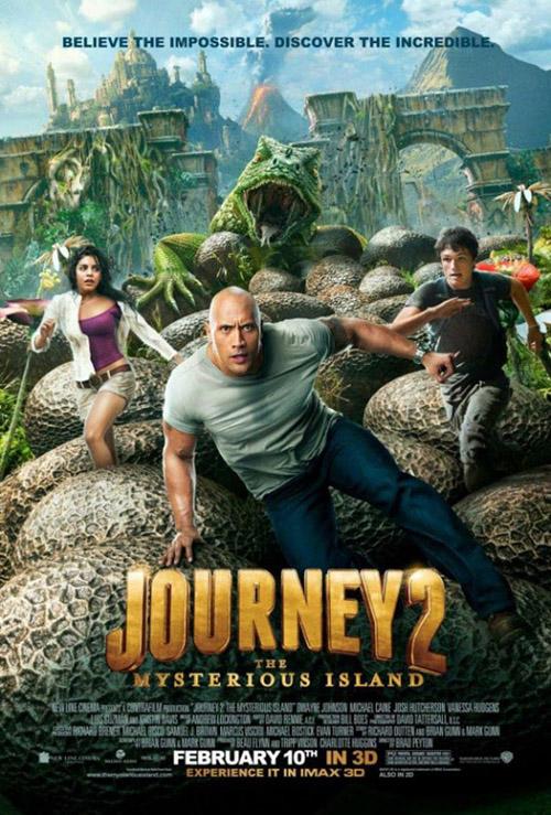 Journey 2 Mysterious Island, Dwayne Johnson, Josh Hutcherson, Vanessa Hudgens