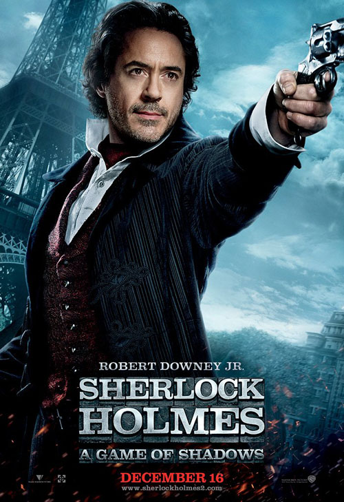 Robert Downey Jr, Sherlock Holmes: A Game of Shadows