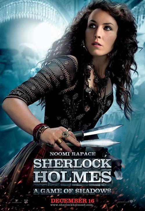 Noomi Rapace, Simza, Sherlock Holmes: A Game of Shadows