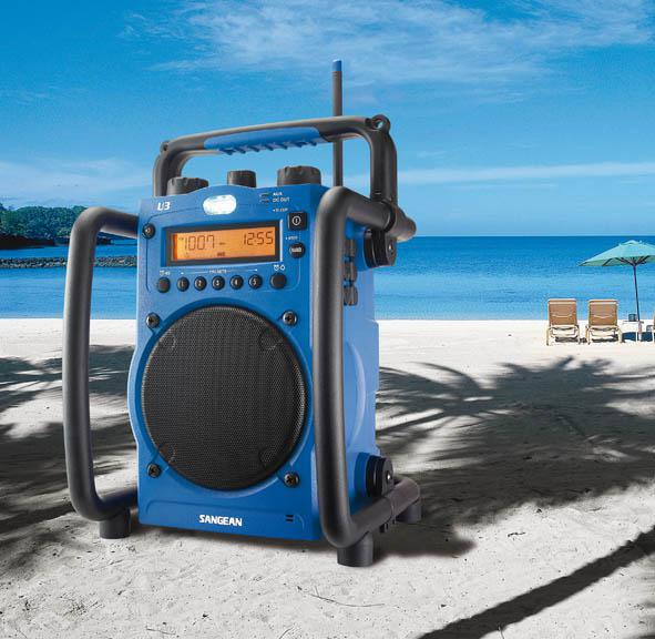 Rugged Radio Portable Worksite