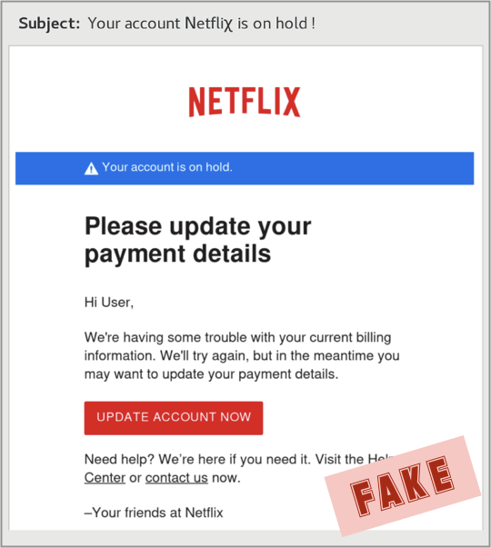 Scam Of The Week: The Most Sophisticated Netflix Phishing Yet