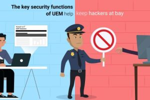 Key security functions of unified endpoint management