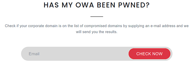 Has My OWA Been PWNED?