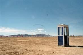 Et stykke kunst midt i ørkenen