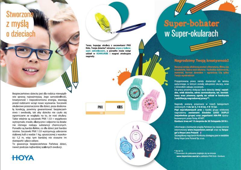 a02a178a0bfb6b Super-bohater w Super-okularach - Optyk dla dzieci i młodzieży