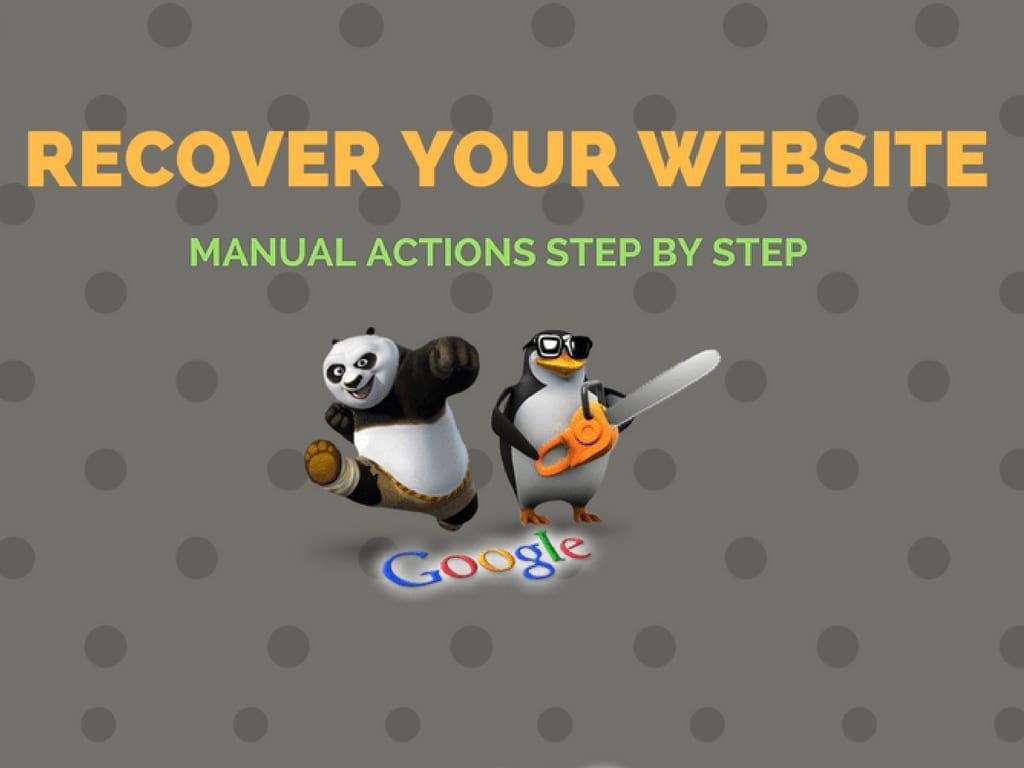 Manual Google Penalties